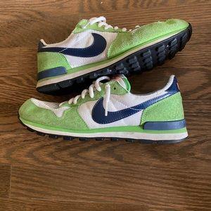 Lime Green Nike Sneakers